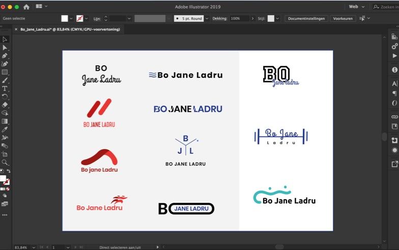 Logo ontwerpfase | Pixel Like